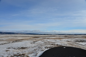 Winter Plains in Northeastern WY