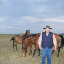 Bob Walden, a rancher that runs cattle near the eastern shore of Fort Peck. He makes phenomenal biscuits, ones that rival Gus Mcrae's from Lonesome Dove, a book which Bob can quote nearly by heart.